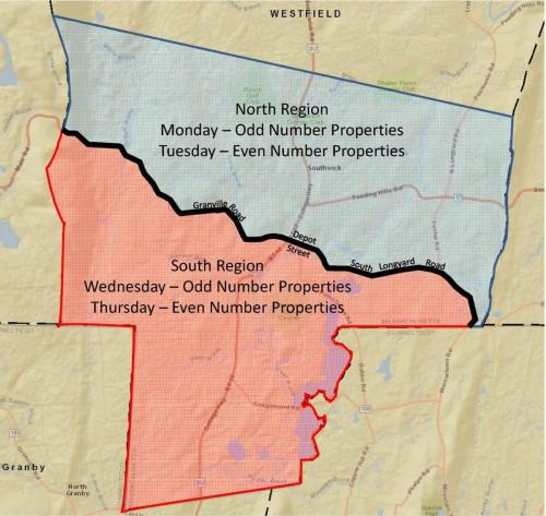 Map of Water Restrictions
